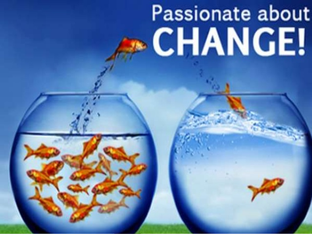 We are passionate about Change...